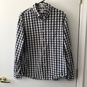 J. Crew Long Sleeve Tailor fit Shirt L gently used